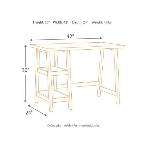 "Lewis 42"" Home Office Desk"