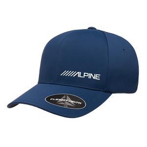 Alpine Navy Flexfit Delta Hat (One Size: L/XL)
