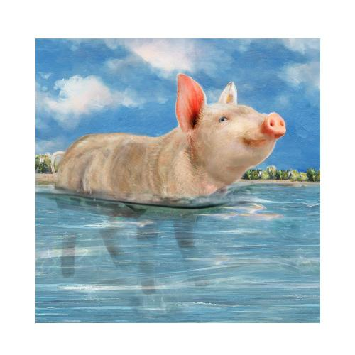 """Crestview Collections - """"PIG IN PARADISE"""""""