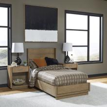 Big Sur Twin Bed and Two Nightstands