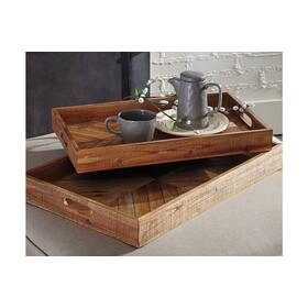 Tray Set Dewitt Brown