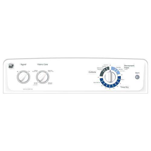 GE® 6.0 cu. ft. capacity Dura Drum electric dryer