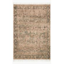 COR-01 Natural / Teal Rug