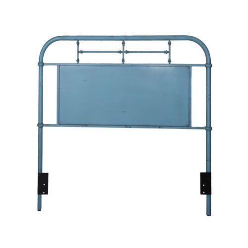 Liberty Furniture Industries - Full Metal Headboard - Blue