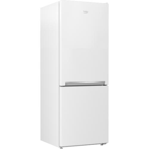 "Beko - 24"" Freezer Bottom White Refrigerator"