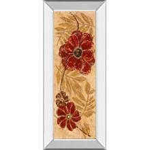 """Touch Of Honey I"" By Maria Donovan Mirror Framed Print Wall Art"