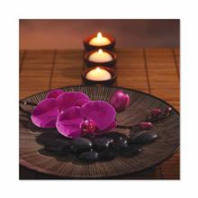 See Details - Orchids and Candles Fine Wall Art