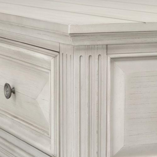 Passages Light Coffee Table, White