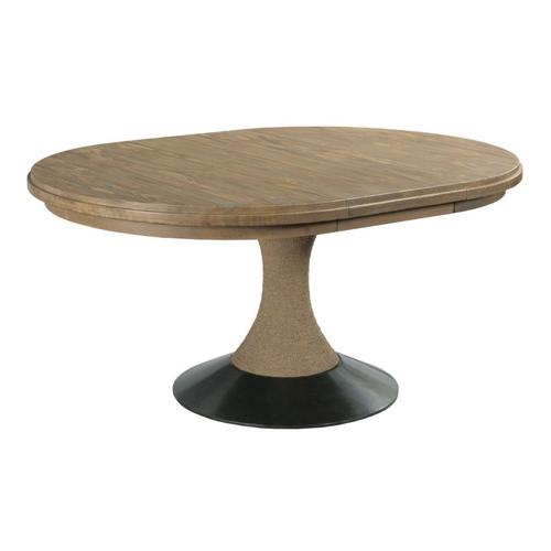 Lindale Round Dining Table - Complete