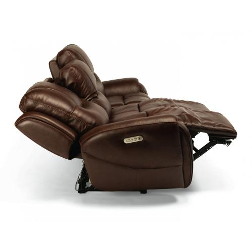 Trip Triple Power Reclining Sofa with Power Headrests