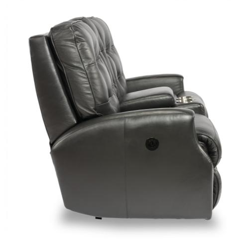 Product Image - Devon Power Reclining Loveseat with Console