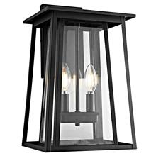 See Details - Velza Outdoor Wall Lantern - Black