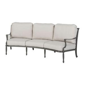 Gensun Casual Living - Bel Air Cushion Curved Sofa