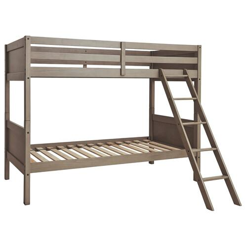 Signature Design By Ashley - Lettner Twin/twin Bunk Bed With Ladder
