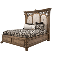 View Product - Eastern King Bed (4 pc) Non Storage