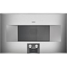 400 Series Combi-microwave Oven 30'' Door Hinge: Right, Door Hinge: Right, Stainless Steel Behind Glass