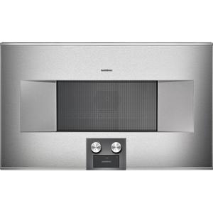 Gaggenau400 Series Combi-microwave Oven 30'' Door Hinge: Right, Door Hinge: Right, Stainless Steel Behind Glass