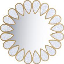 "Shell Mirror - 32"" W x 1"" D x 32"" H"