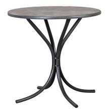See Details - Steel Gray Dining Table