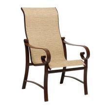 See Details - Belden Sling High-Back Dining Armchair
