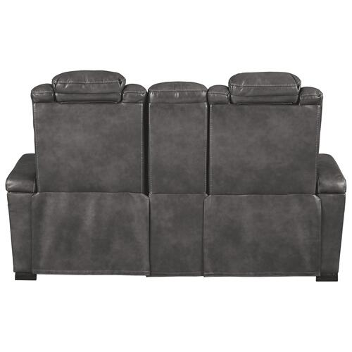 Turbulance Power Reclining Loveseat