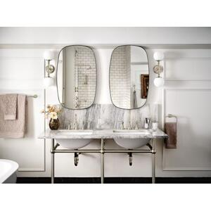 Colinet brushed nickel towel bar