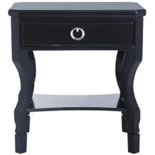 Alaia One Drawer Night Stand - Navy