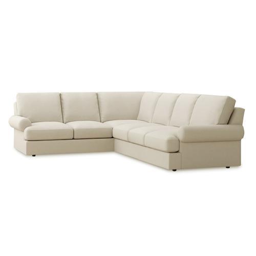 Bassett Furniture - Bryant Large L-Shaped Sectional