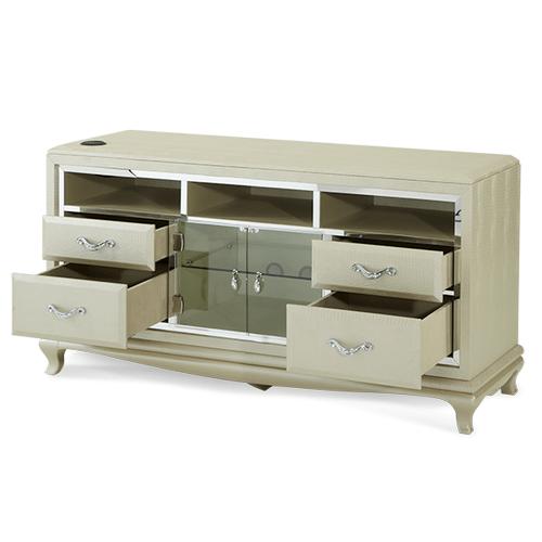 Pearl Croc Media Cabinet
