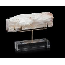 Gallery-Displayed Selenite Log