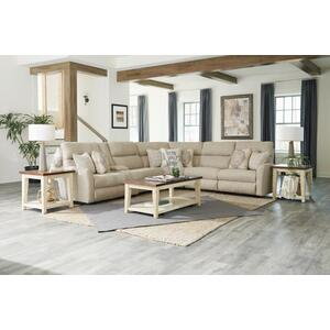 Power Lay Flat Armless Recliner