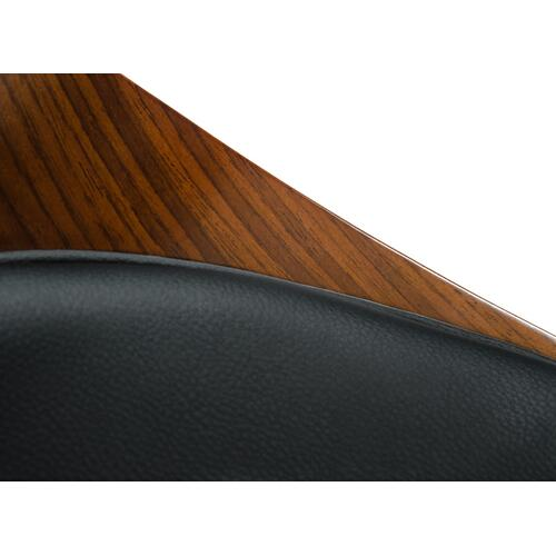 Modrest Roblin Modern Black Bar Stool