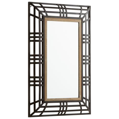 See Details - Banded Out Mirror