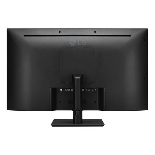 LG - 43'' IPS UHD 4K Monitor (3840x2160) with USB Type-C™,10W Speakers, 4x HDMI Inputs, HDCP 2.2 Compatible with Remote