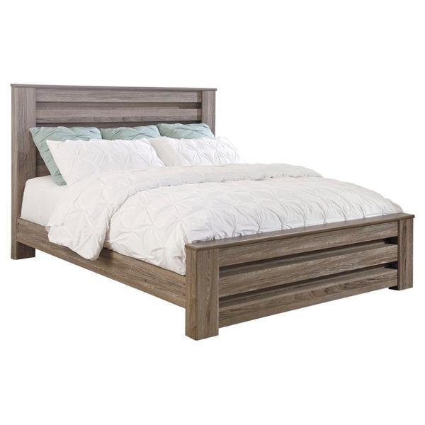 See Details - Zelen Queen Panel Bed