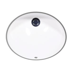 """White MALIBU Undermount Lavatory, 15"""" Product Image"""