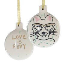 "4"" E+E Peace + Love Collection (Eloise Ornament Option)"