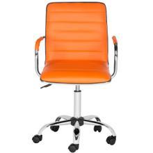 Jonika Swivel Desk Chair - Orange