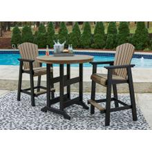 Outdoor Bar Table and 2 Barstools