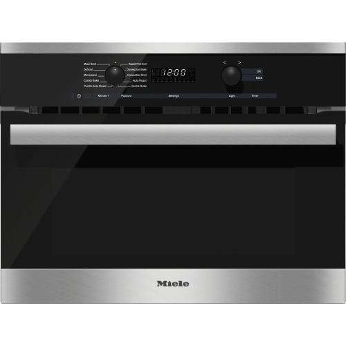 H 6200 BM AM - 24 Inch Speed Oven With electronic clock/timer and combination modes for quick, perfect results.