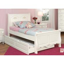 See Details - Sleigh Bed With Optional Trundle Storage
