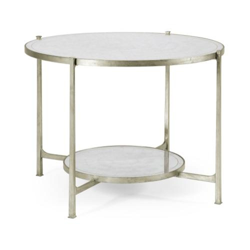 glomise & Silver Iron Centre Table