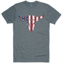 Men's Titanium Heather American Bull T-Shirt