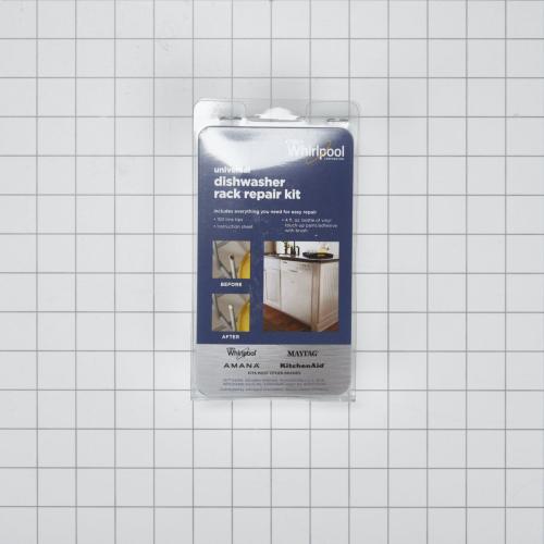 Dishwasher Rack Repair Kit, White - Other
