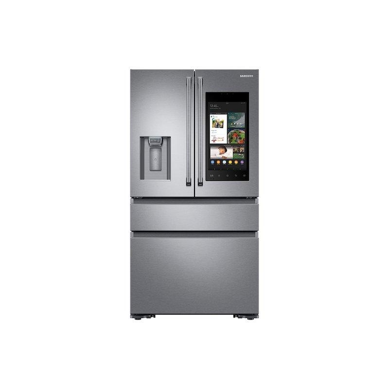 22 cu. ft. Family Hub™ Counter Depth 4-Door French Door Refrigerator in Stainless Steel
