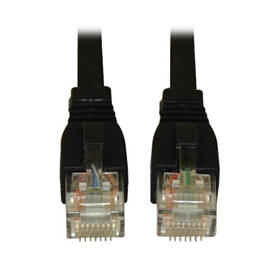Cat6a 10G Certified Snagless UTP Ethernet Cable (RJ45 M/M), Black, 20 ft.