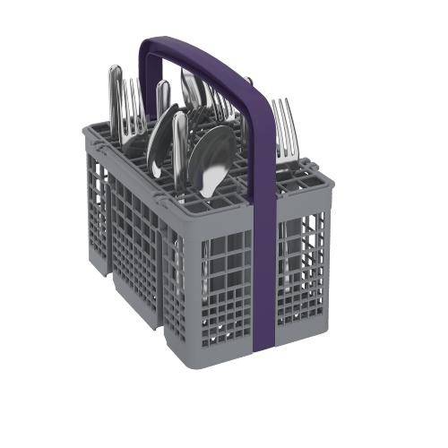 Beko - Tall Tub Black Dishwasher, 14 place settings, 48 dBa, Front Control
