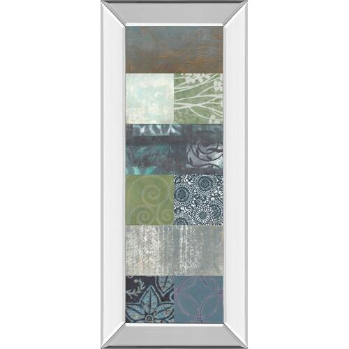 """Zen Panel Il"" By Vision Studio Mirror Framed Print Wall Art"