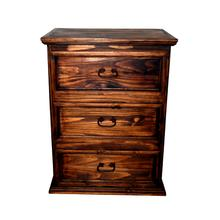 Large 3 Drawer Night Stand