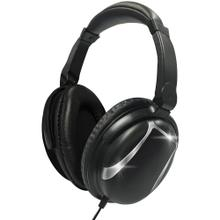 Bass 13 Heavy-Bass Over-Ear Headphones with Microphone (Black)